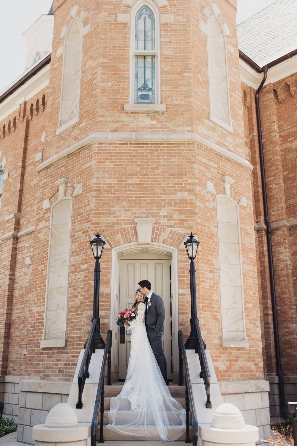 Provo Temple Wedding