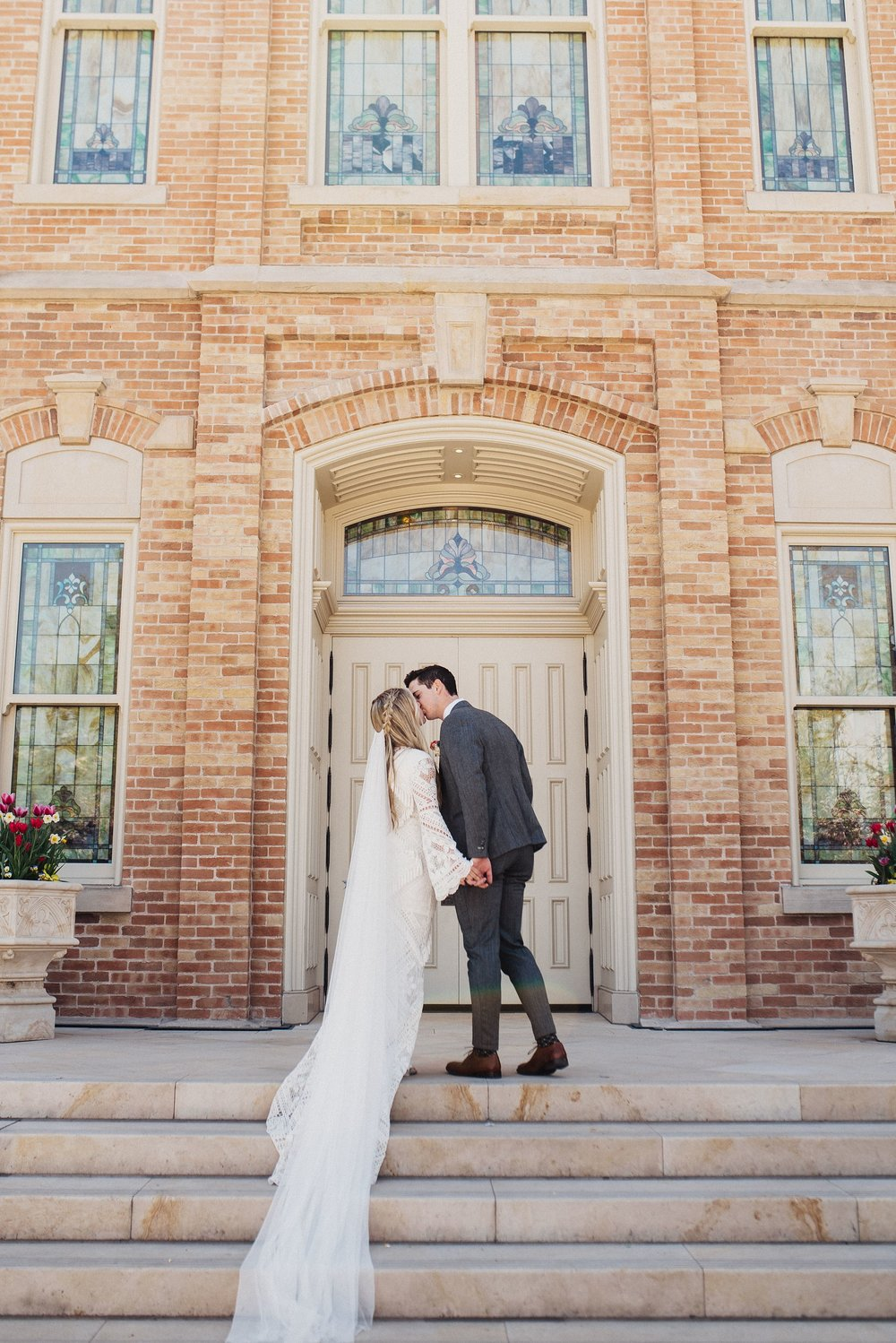 LDS Provo City Center Temple Wedding