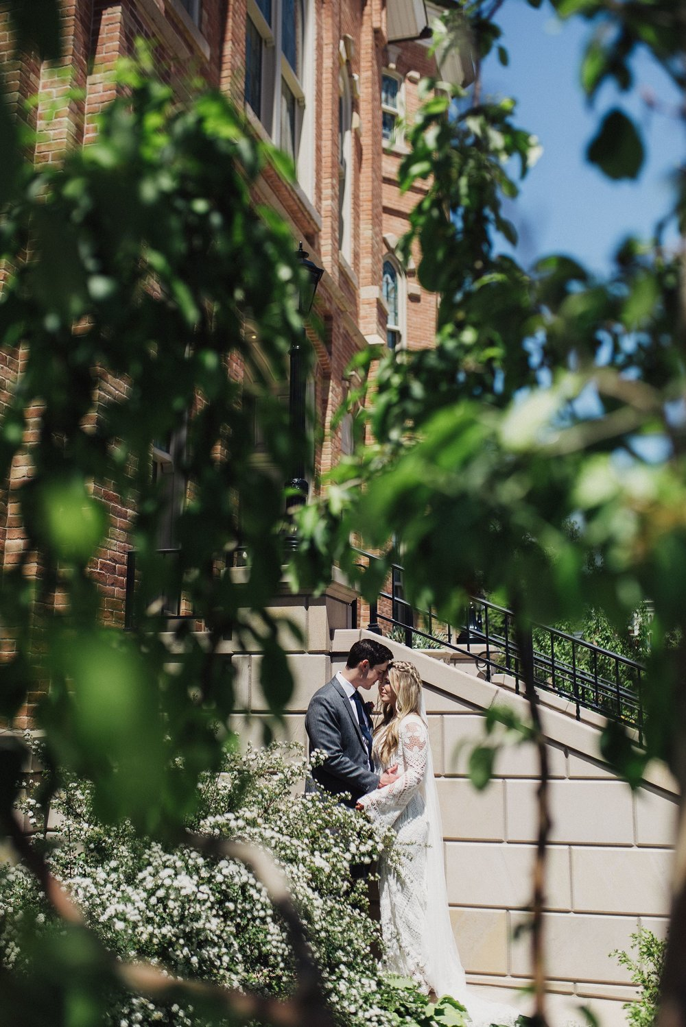 Boho Provo Temple Wedding