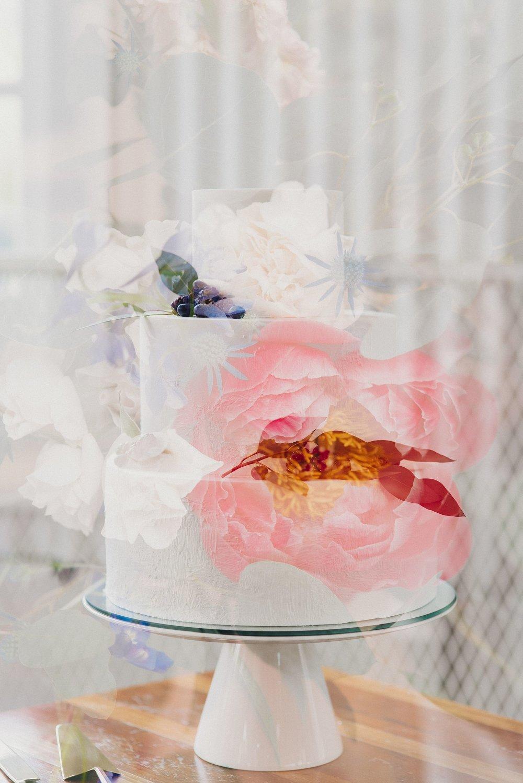 Modern Wedding Cake Eden Strader