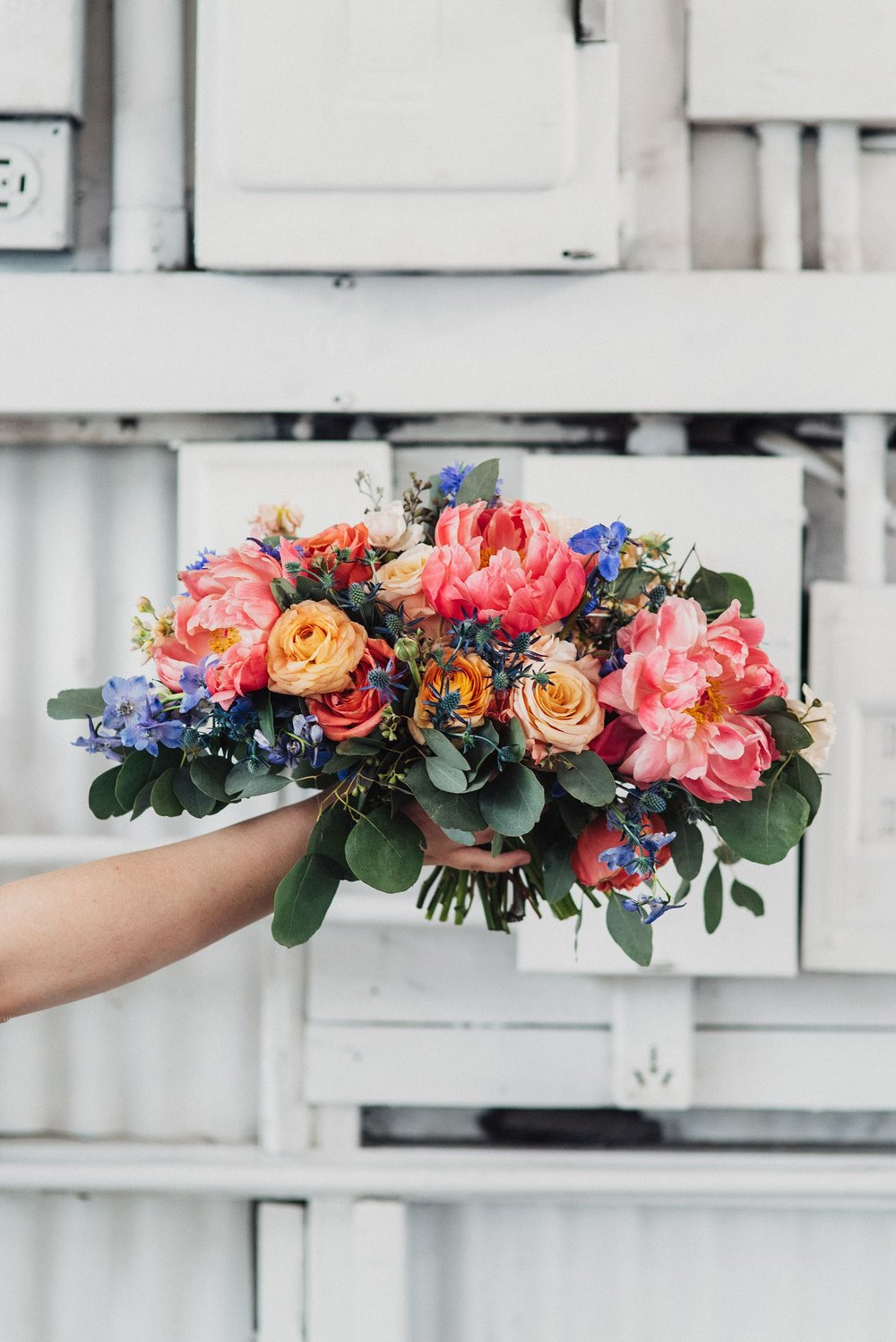 Intertwined Floral Boho Bouquet