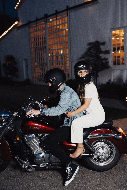 Eden Strader Motorcycle Exit