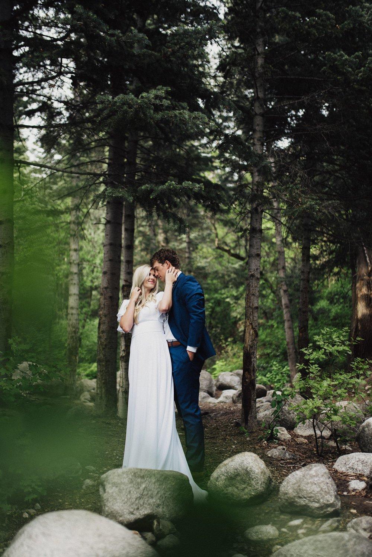 Alpine forrest bridals