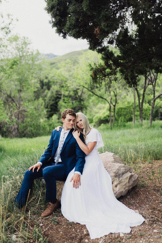 Utah spring bridals Eden Strader