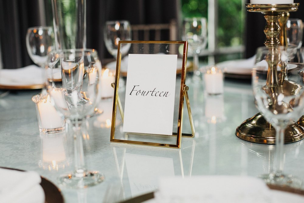 modern and minimalist wedding design ideas