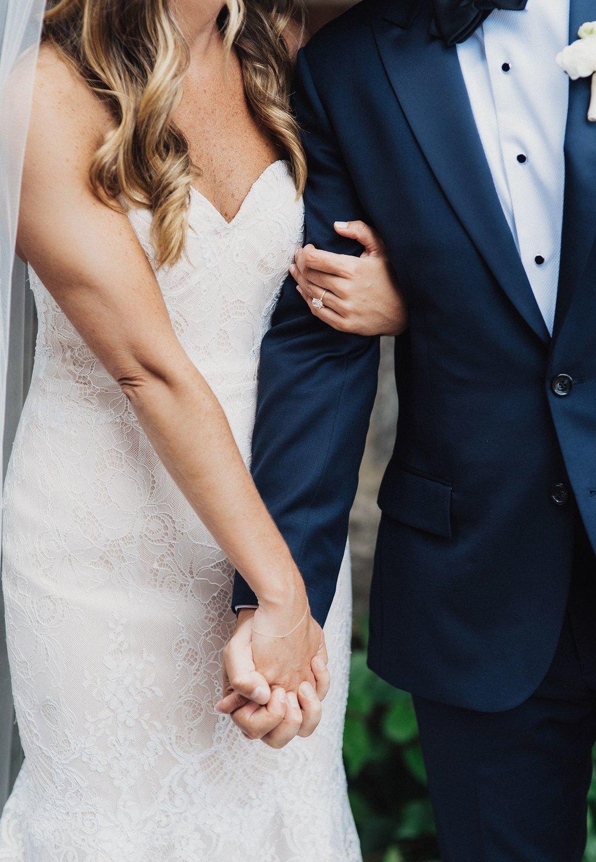 modern wedding at blue hill in new york