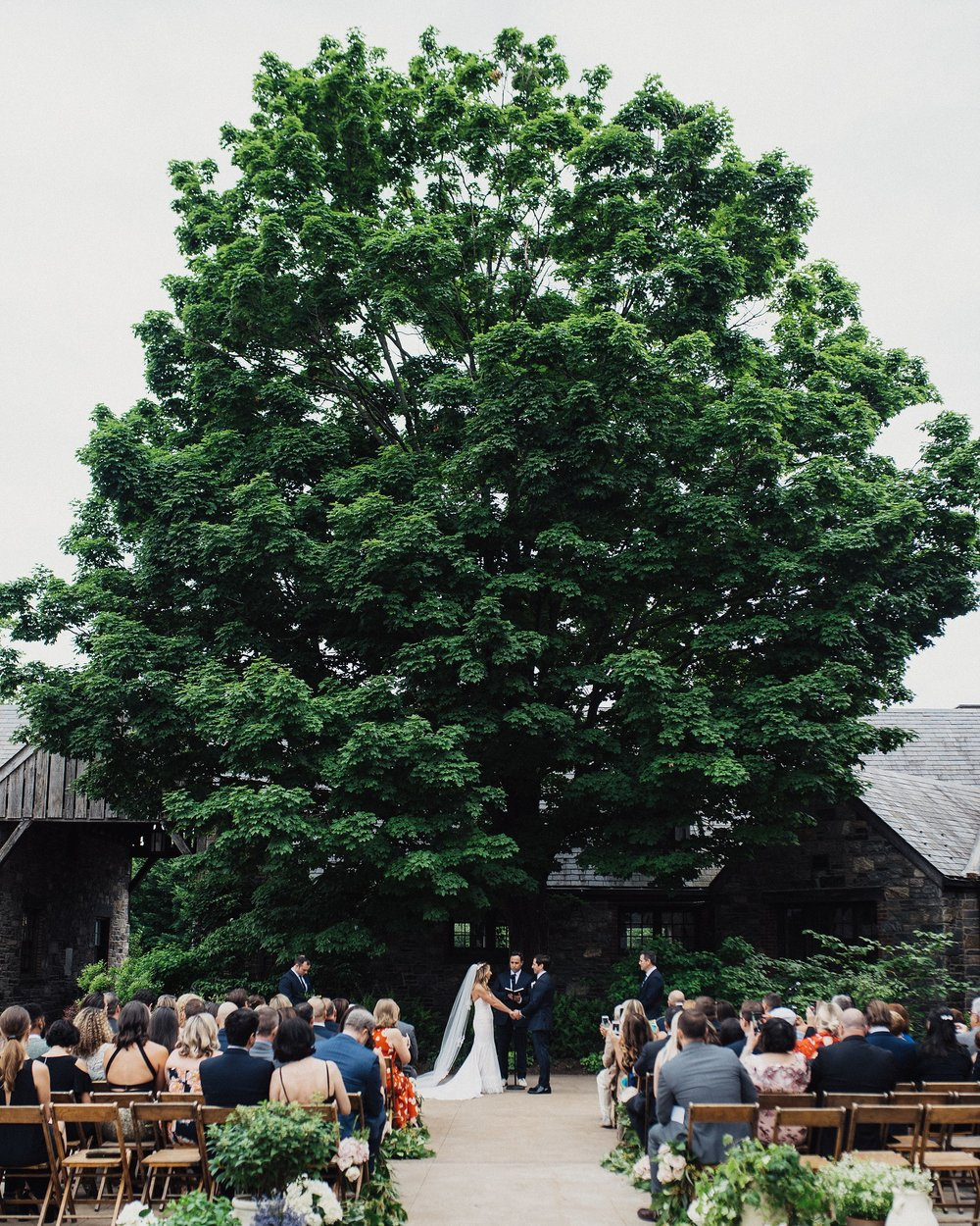 blue hill at stone barns in new york wedding