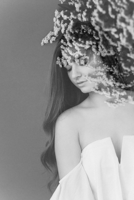 Bridal double exposure