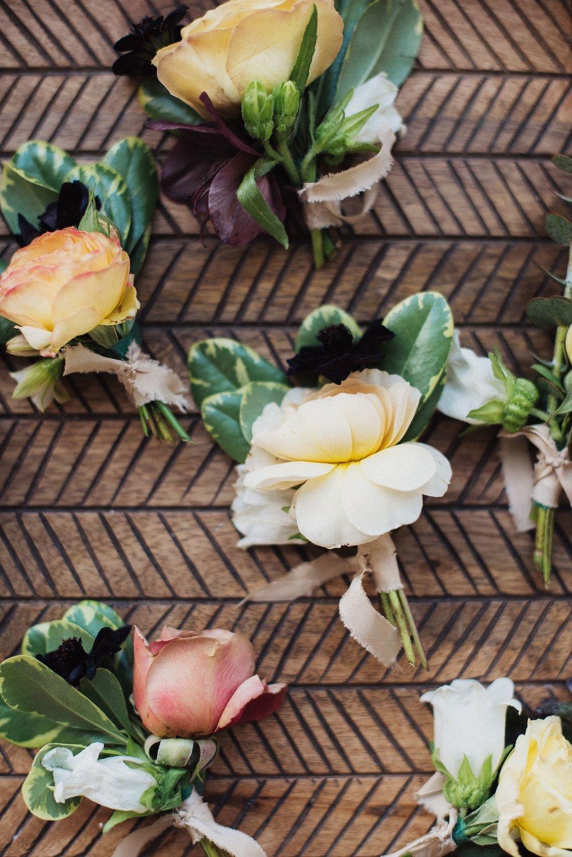 tropical wedding florals
