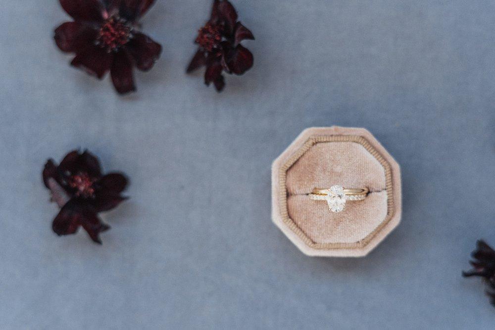 octagon ring box inspiration