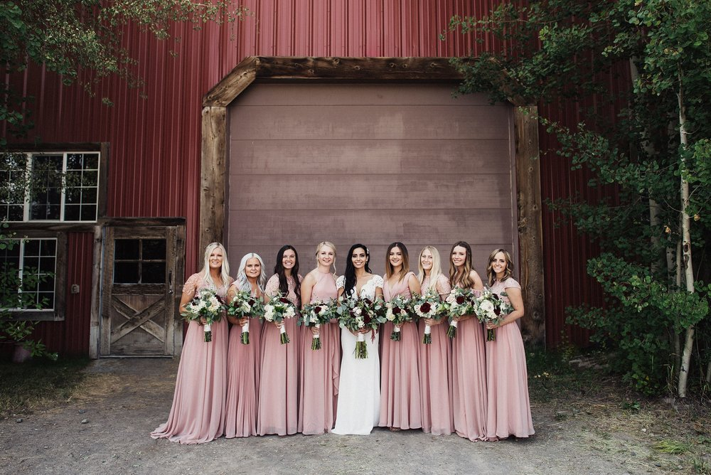 jackson wyoming wedding at diamond cross ranch