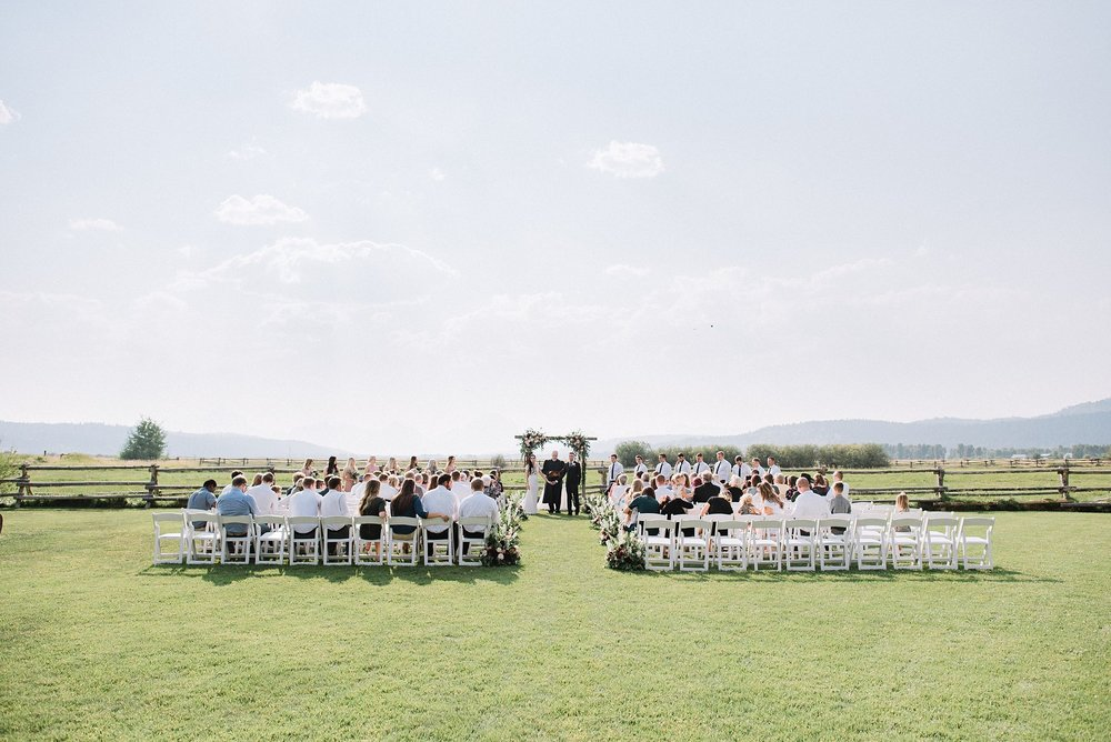 diamond cross ranch wedding in wyoming