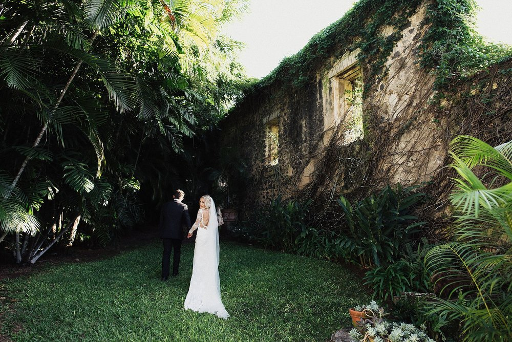 modern wedding at haiku mill