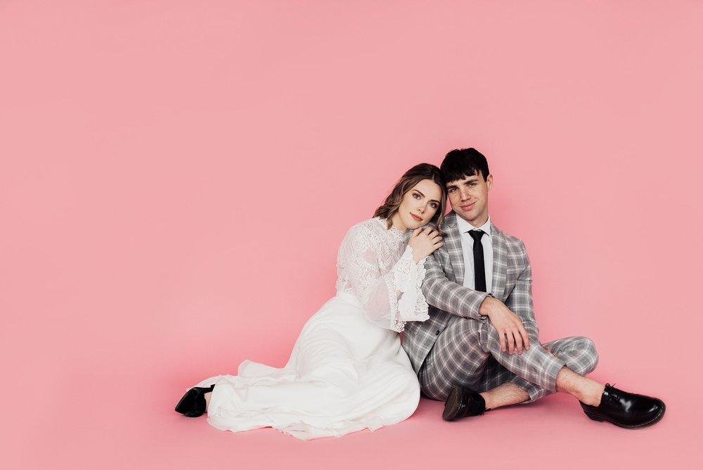 pink studio bridals at miesh studio