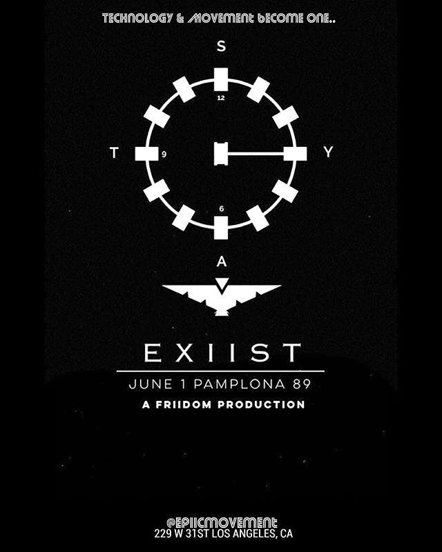 E X I I S T || JUNE 1ST || #Epiic . . . . #comicon #cosplay #Tesla #bodypaint #nofilter #freedom #disneyland #love #hanszimmer #blackmirror #rpdr9 #disney #infinitywar #exist #black #white #friidom #epiicmovement #universe #artoftheday #movement #artwork #spacex #instaart #hyperloop #artistsoninstagram #instadraw #dailysketch #epic