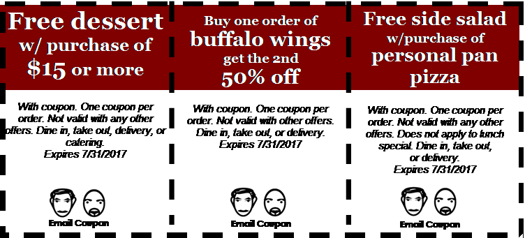 July Coupons