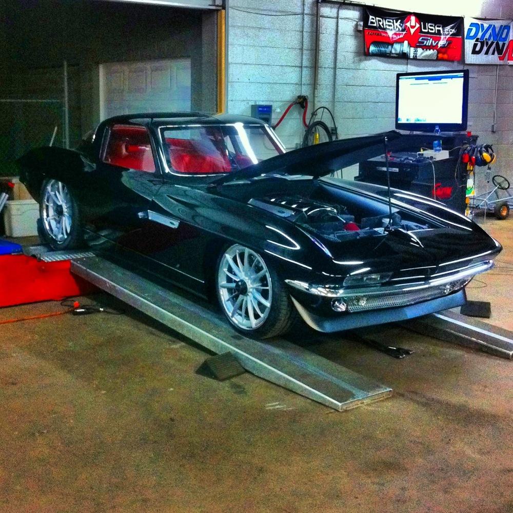 Alan Woodall's Corvette