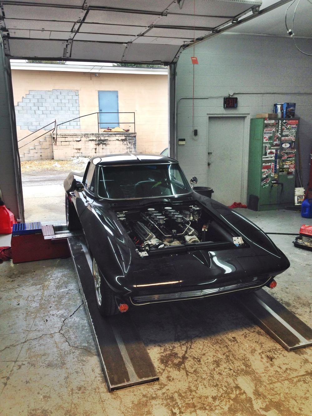 427 LS7 63 Corvette