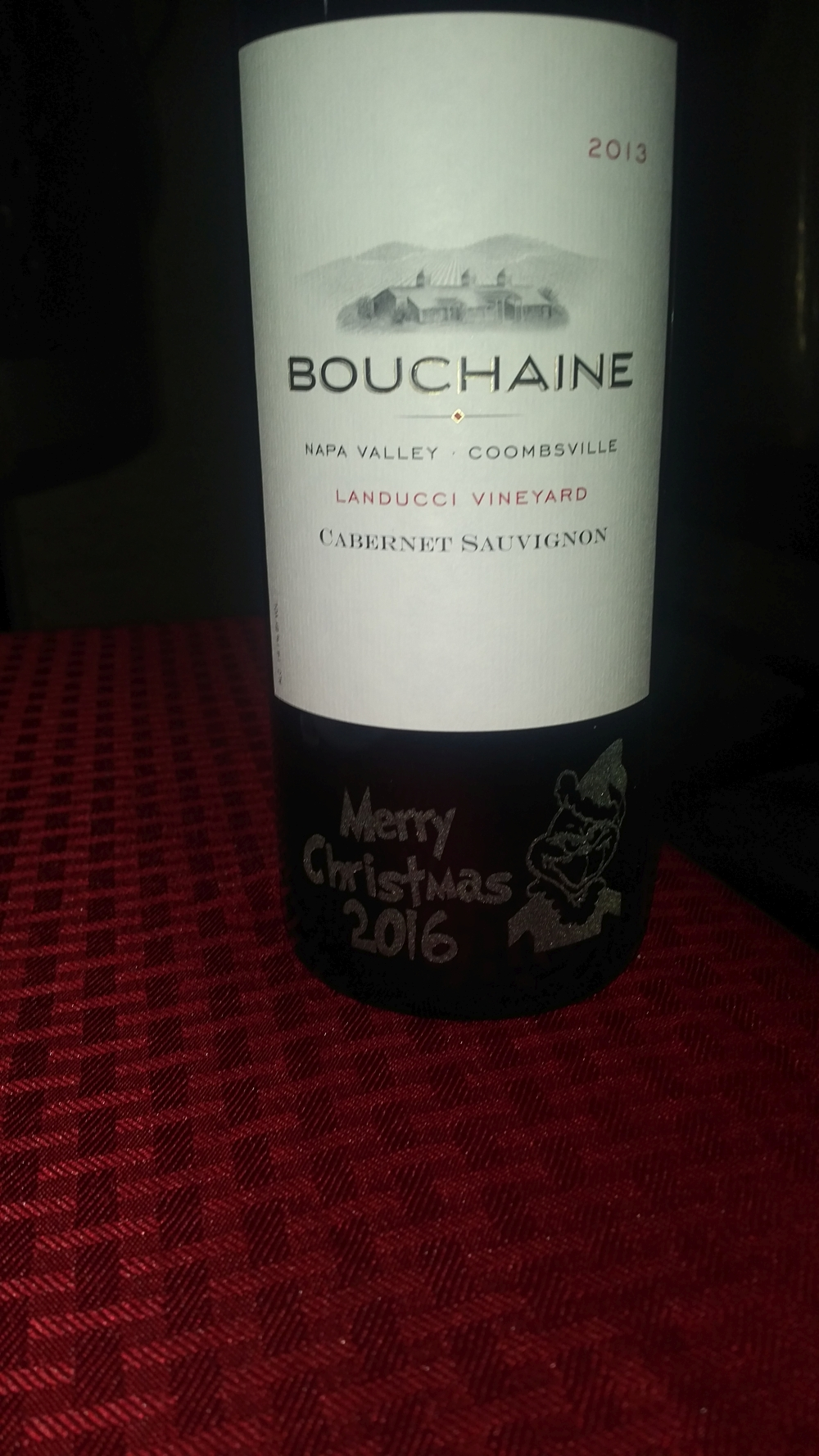 Bouchaine Release Party, November 19, 2016