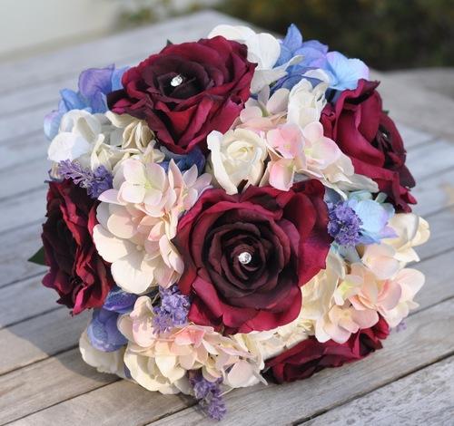 Burgundy Wedding Flower Beth Sangria