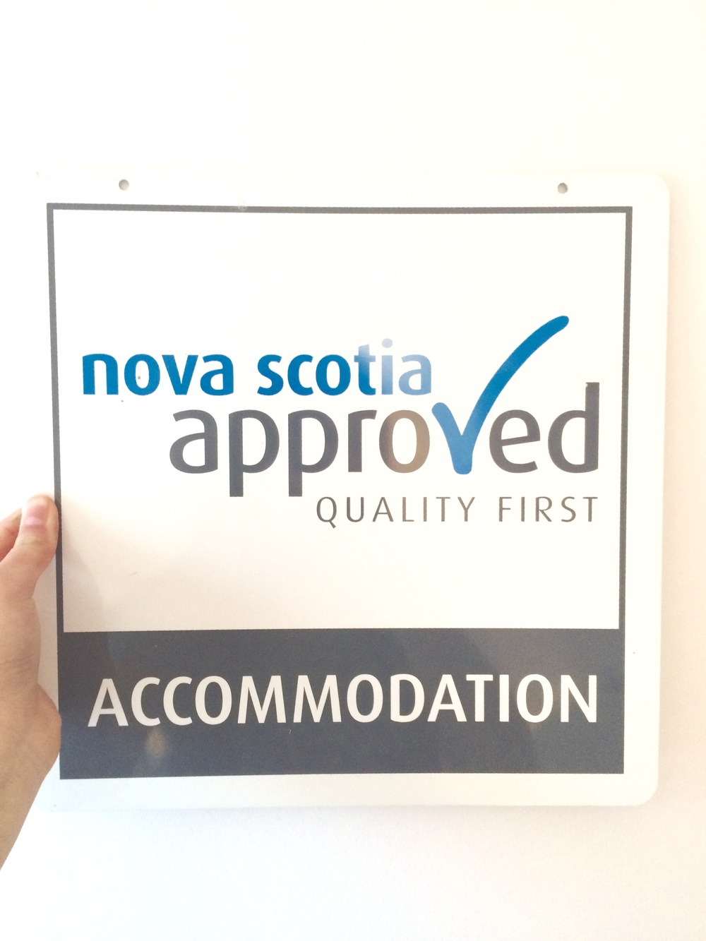 It's official! We are now Nova Scotia Approved!