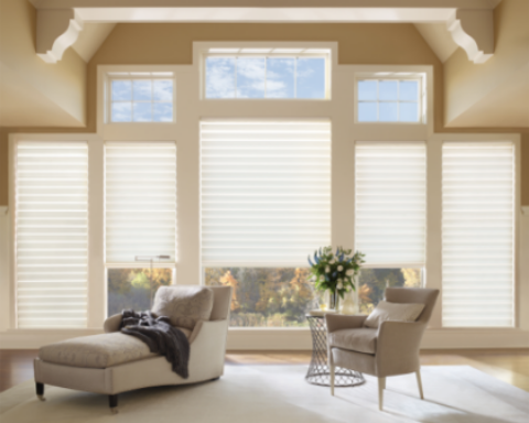Holland Interiors designs by Hunter Douglas