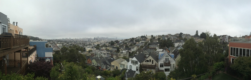 Gorgeous neighborhoods in San Francisco. If I could afford it, I think I could live here...
