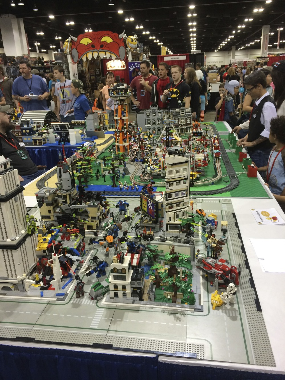 Awesome Lego at the Expo.