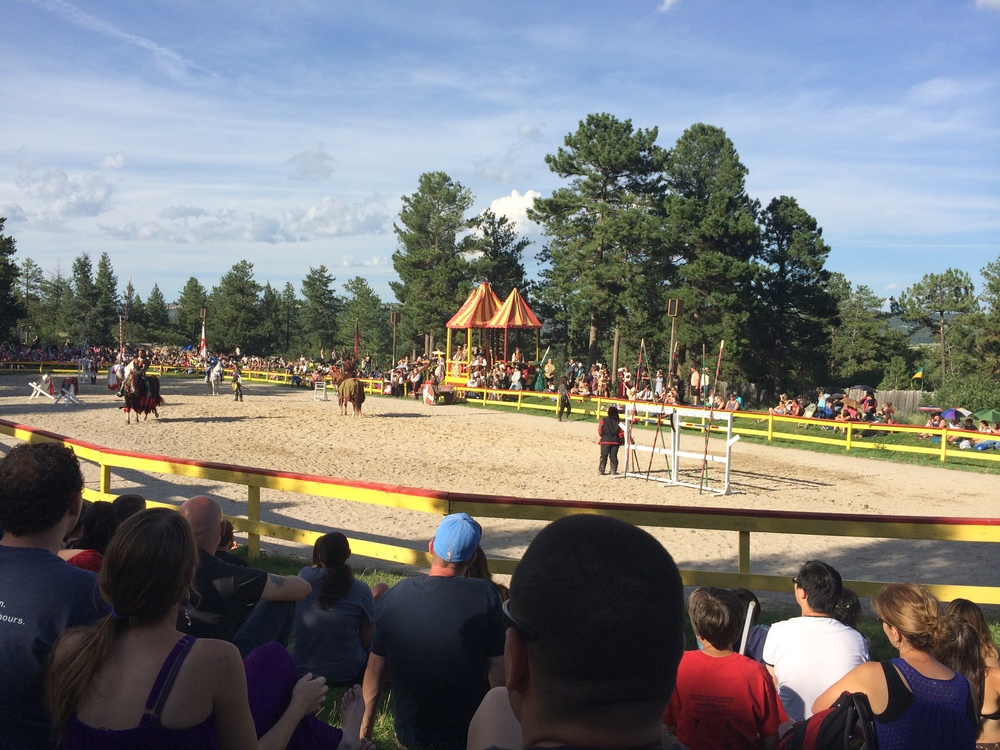 The jousting match at the end of the day