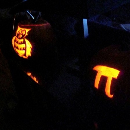 Owl and Pumpkin Pi