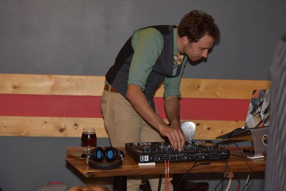 Our wonderful DJ :)