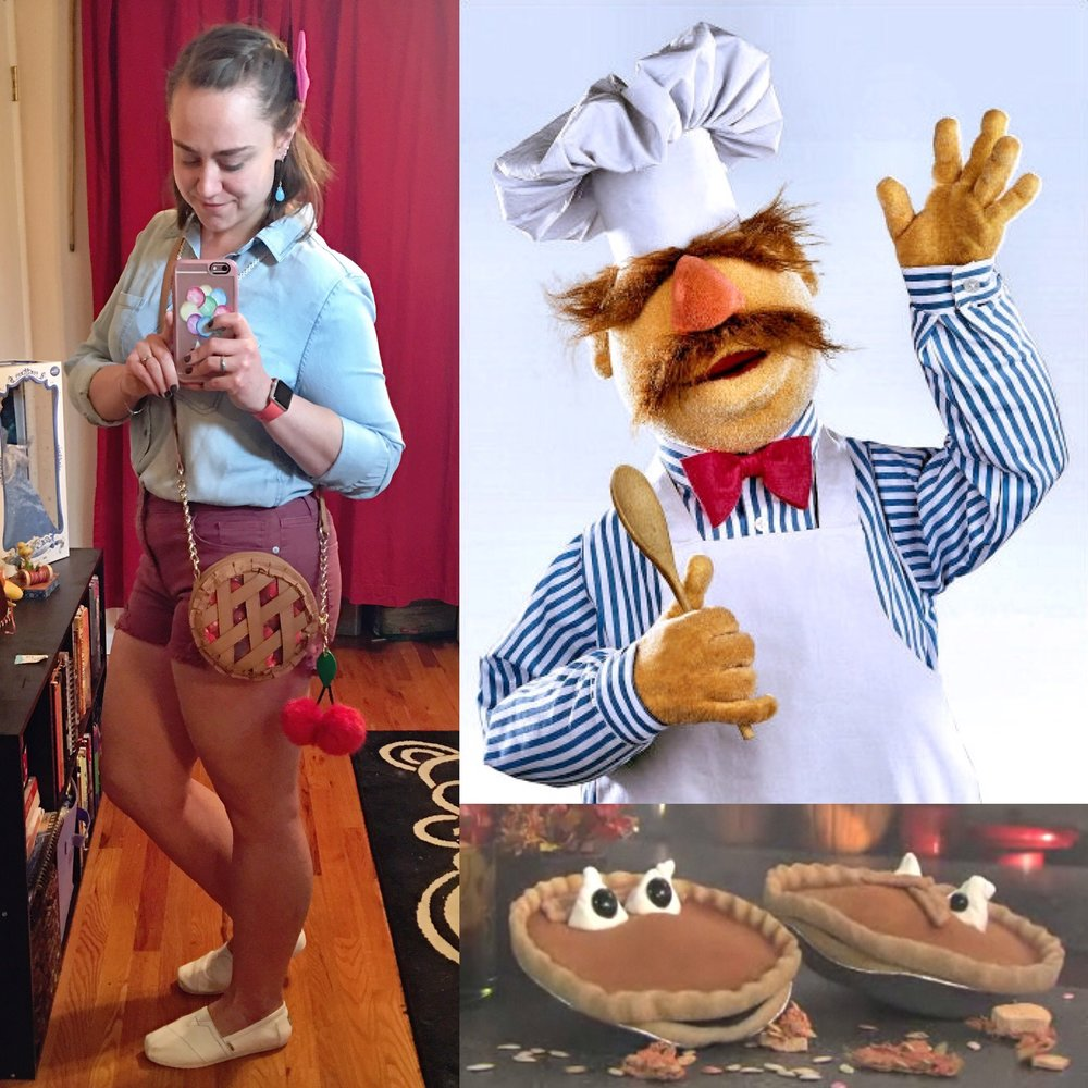 The Muppets - The Swedish Chef (and his pie)