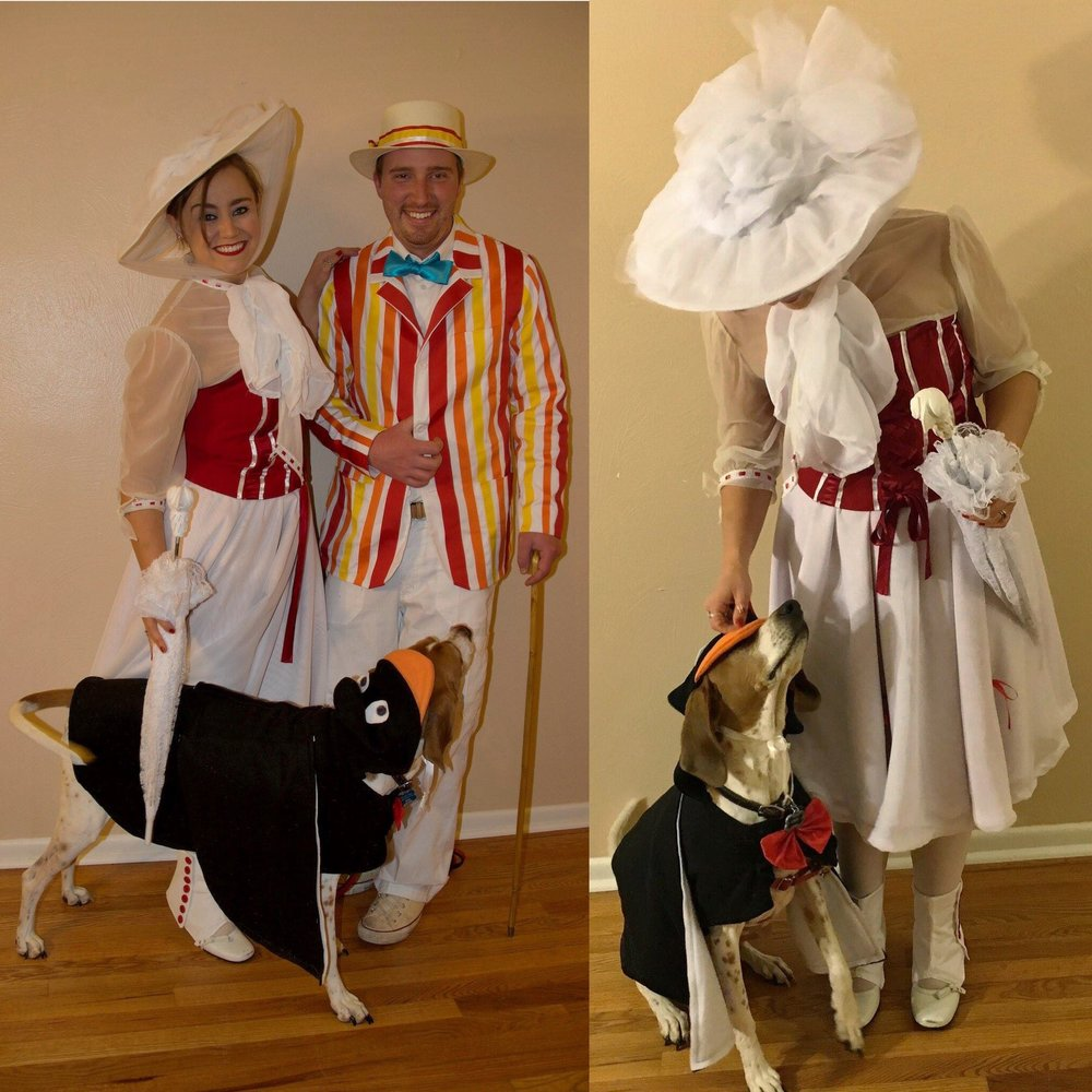 Mary Poppins - Throwback to Halloween 2015 - DIY