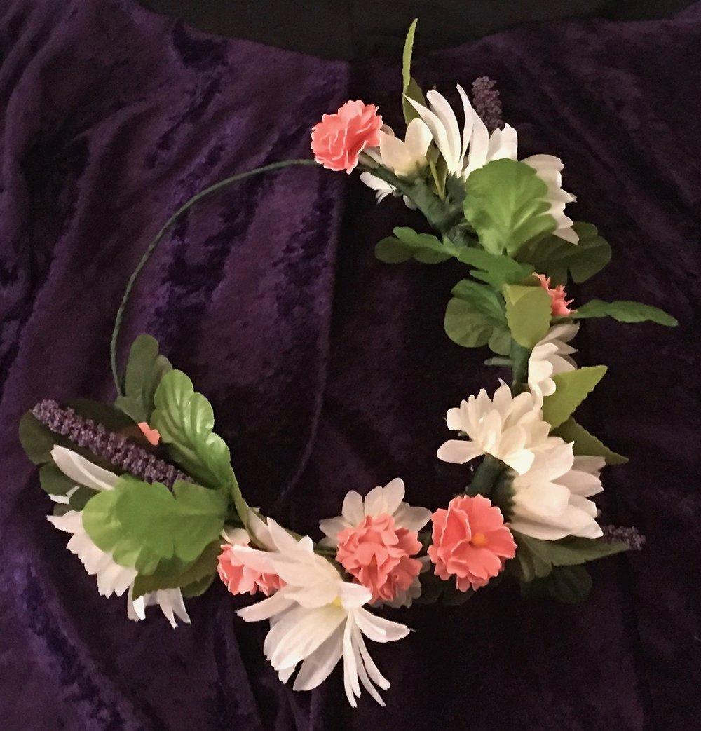 A Quick Renaissance Festival Outfit Refresh Flower Crown