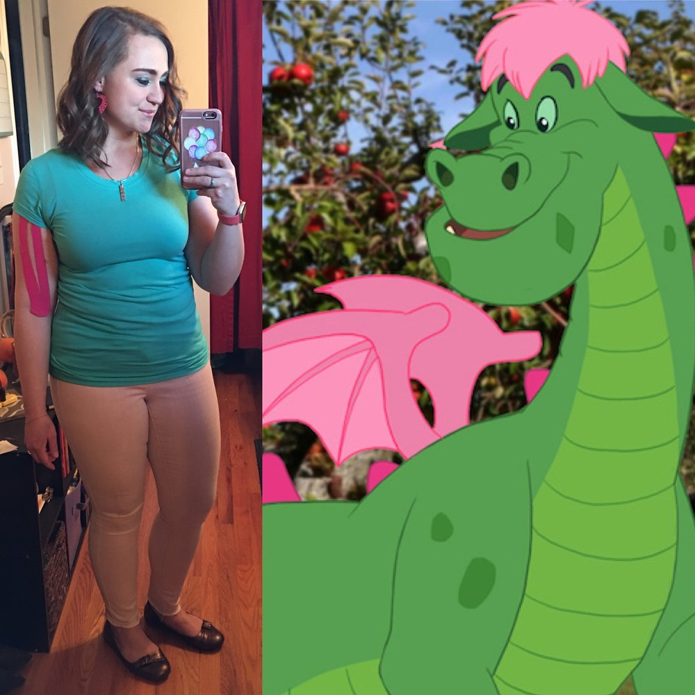 Characters who are/wear green - Elliott from Pete's Dragon