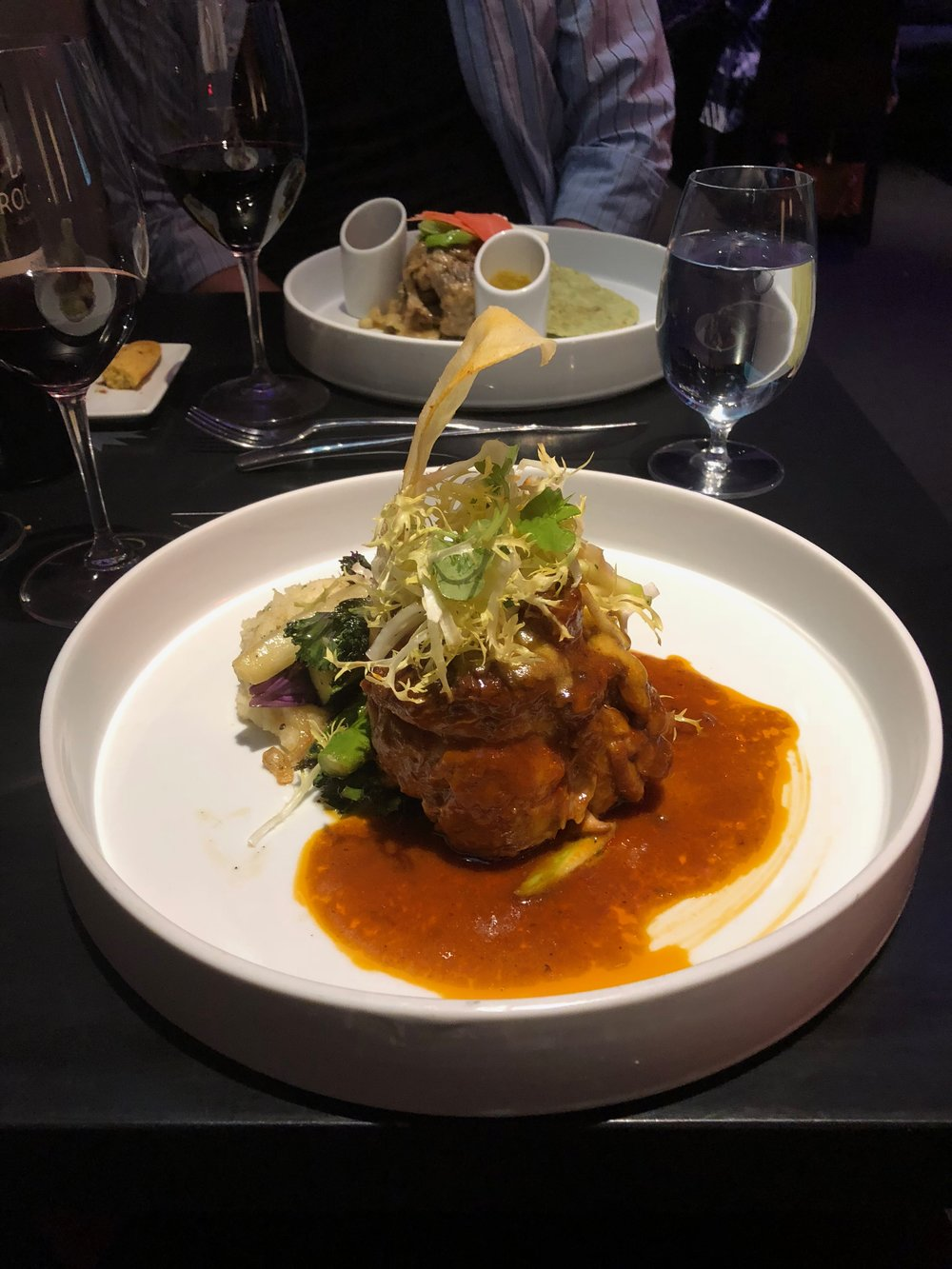 Osso Bucco at Coyote Cafe