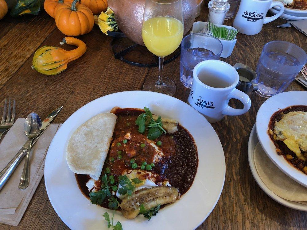 Huevos Motuleños at Pasquale's