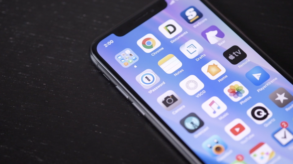 The display on the iPhone X is simply gorgeous.