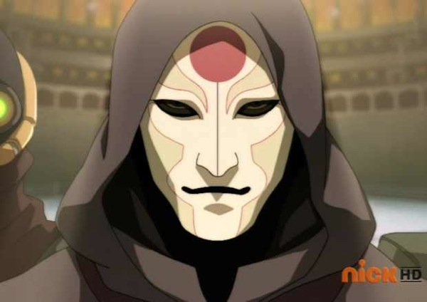 The face of the Equalist Movement: Amon.