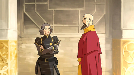 There's an entire subplot about the failed relationship between Lin and Tenzin and the awkwardness between them.