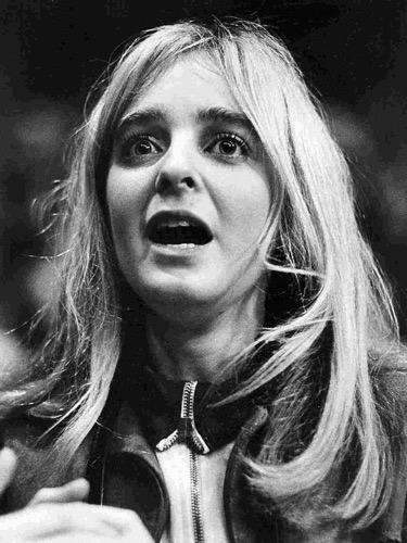 Tobin's sister Toni in 1970.