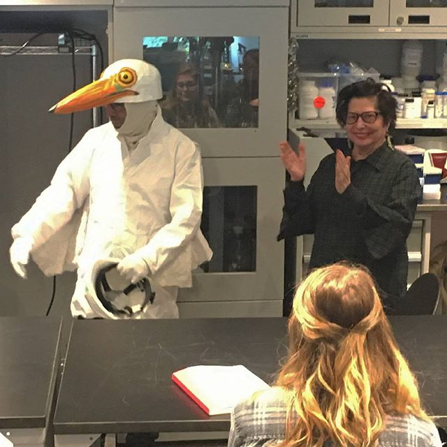 Thank you to Suzanne Anker,  chair of SVA BFA Fine Arts and Bio-Art class.#environmental #Bushwick #bio-remediation #svafinearts #greategret #mussels