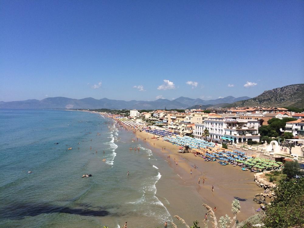 Sperlonga beach, Italy.