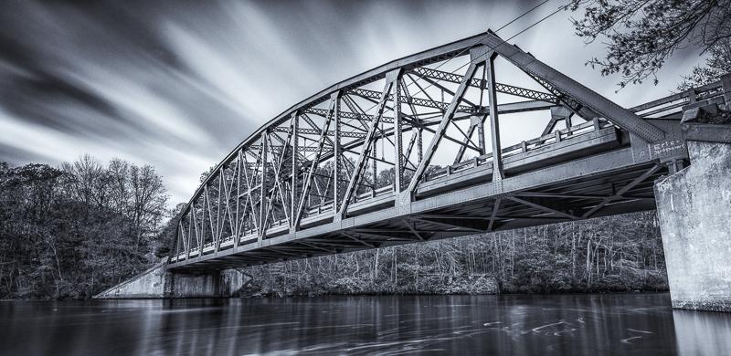 Photographed this Bridge