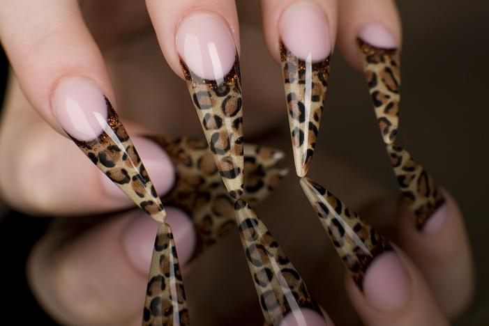 Young Nails - sondrea's signature styles salon and spa - ethnic african american - nails - manicure - el paso texas - Gel Lepard Nails.jpg