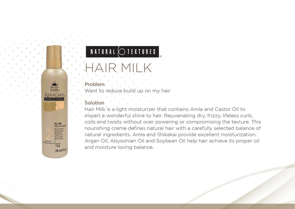 KeraCare Natural Textures Hair Milk