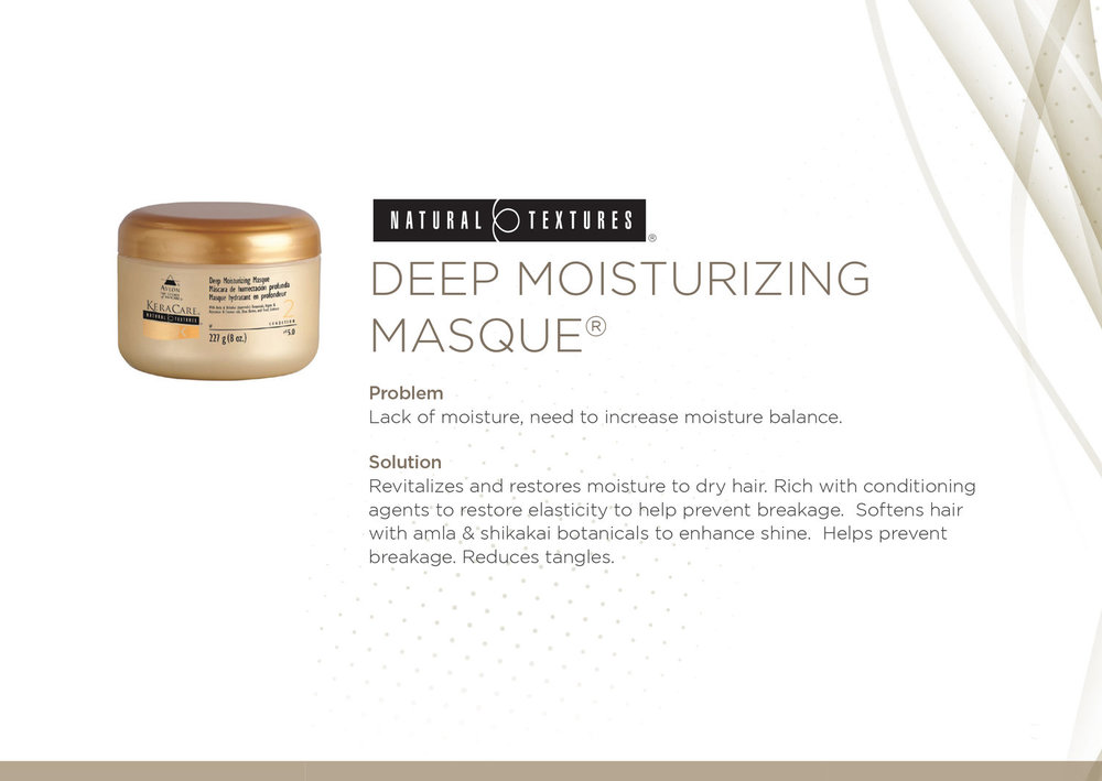 KeraCare Natural Textures Deep Moisture Masque