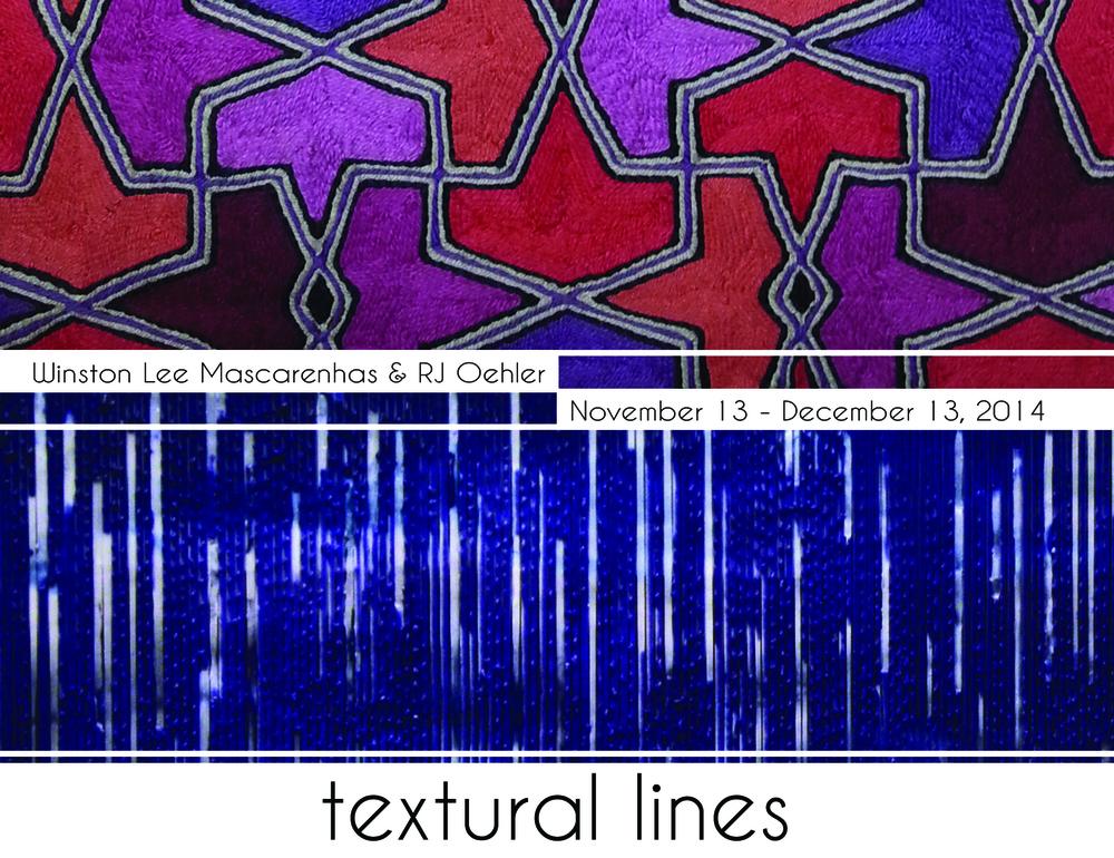 Textural Lines Exhibition