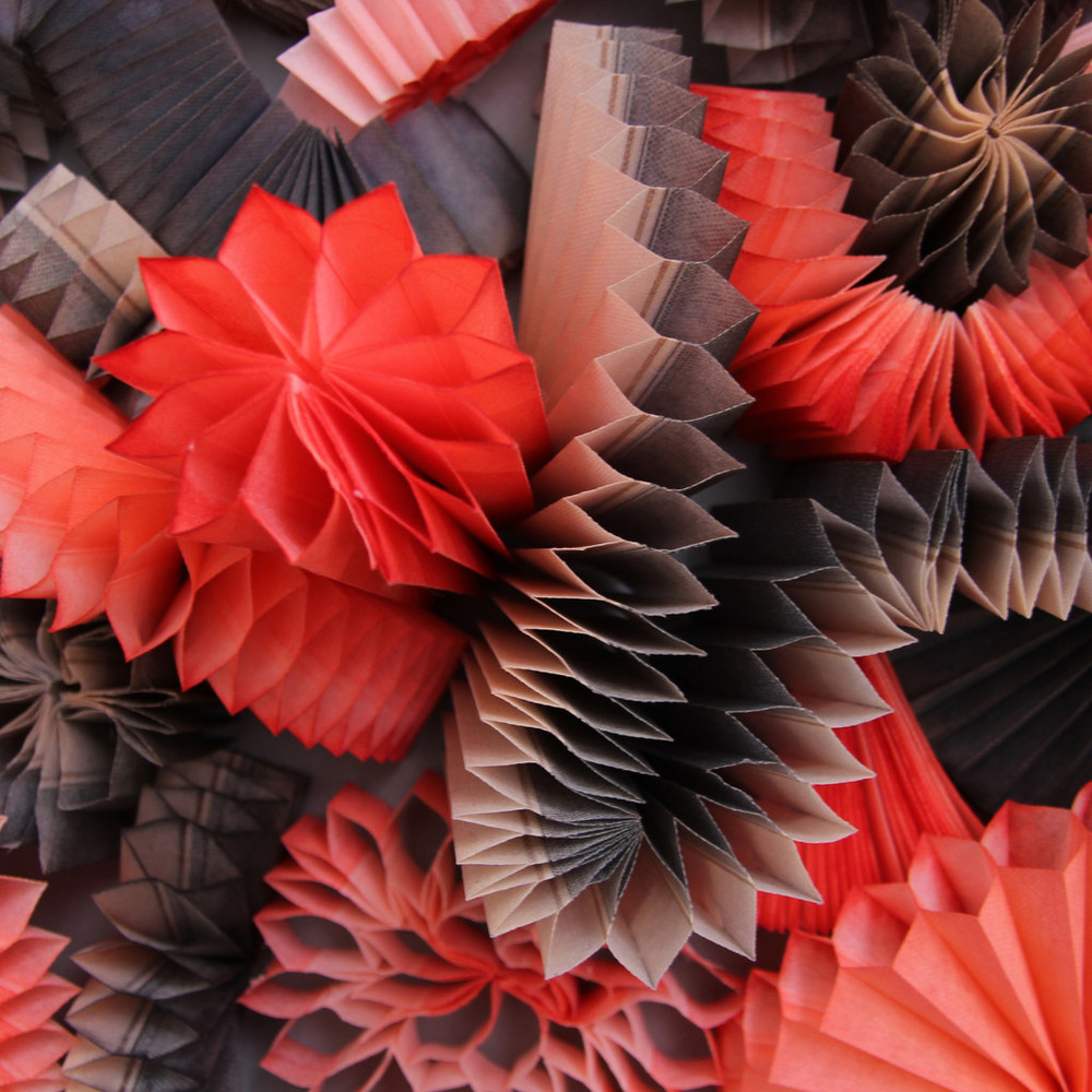 Melissa Borrell - Red Accordion (detail)