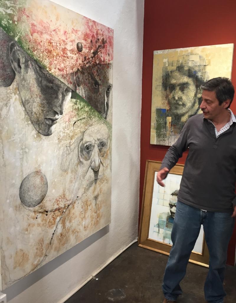Studio visit with Edgardo Kerlegand